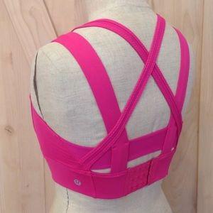 31eeadc7a8b8e lululemon athletica Intimates   Sleepwear - Lululemon Oxygen Bra Jewel  Magenta Sports Bra ...